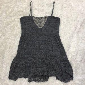 Free People Patterned Mini Dress